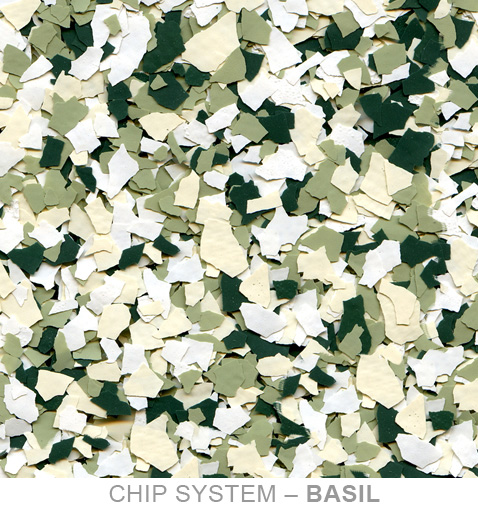 k and m coatings chip swatch basil 1